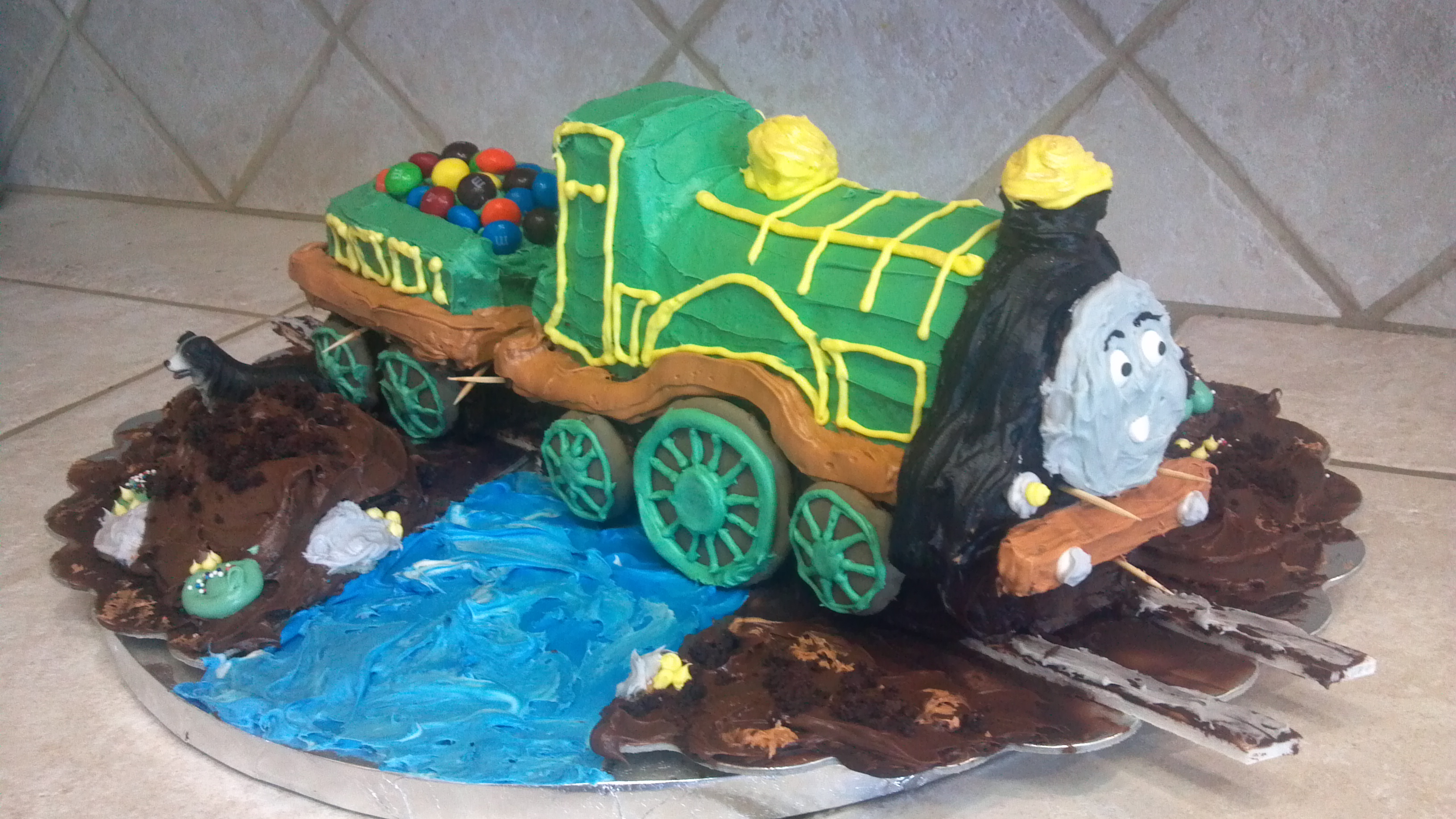 Emily the train cake