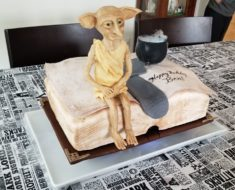 Dobby Harry Potter Cake