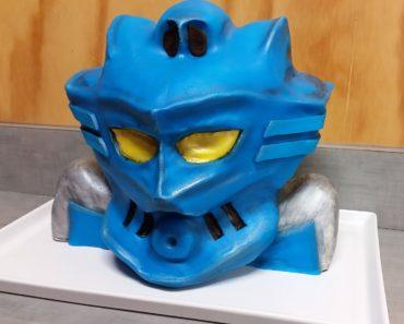 Gali, Master of Water, Lego Bionicle Cake