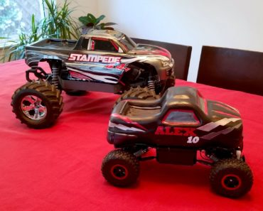 Remote Controlled Monster Truck Cake